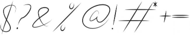 Boudelaire Regular otf (400) Font OTHER CHARS