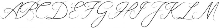 Boudelaire Regular otf (400) Font UPPERCASE