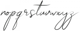 Boudelaire Regular otf (400) Font LOWERCASE