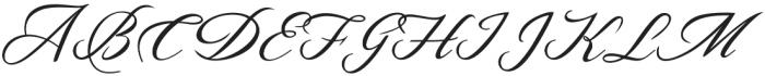 Bougenvil otf (400) Font UPPERCASE