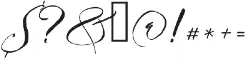 Bougenville Regular ttf (400) Font OTHER CHARS