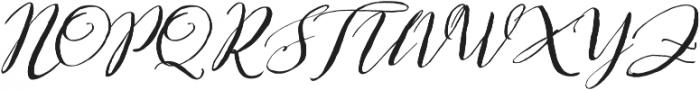 Bougenville Regular ttf (400) Font UPPERCASE