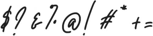 Boujond otf (400) Font OTHER CHARS