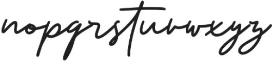 Boujond otf (400) Font LOWERCASE