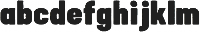 Bouldy Rough otf (400) Font LOWERCASE