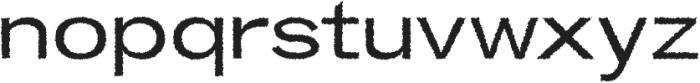 Boulia Distorted otf (400) Font LOWERCASE