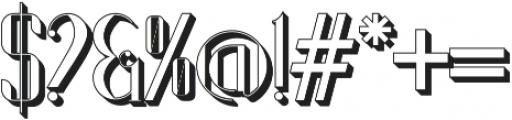 Boullervard otf (400) Font OTHER CHARS