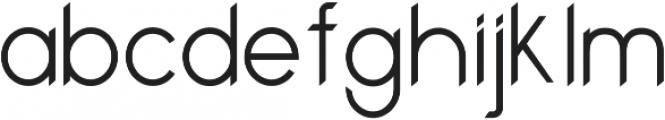 Bounce Regular ttf (400) Font LOWERCASE