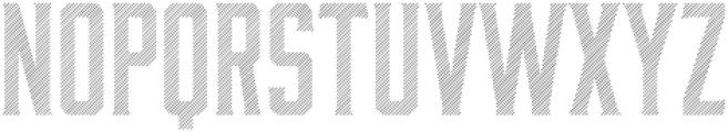 Bourbon Lines otf (400) Font UPPERCASE
