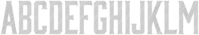 Bourbon Lines otf (400) Font LOWERCASE