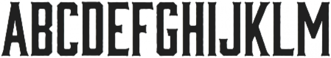 Bourbon Rough otf (400) Font LOWERCASE