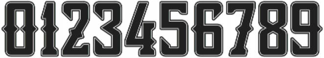 Bourbon Strong Stroke otf (400) Font OTHER CHARS
