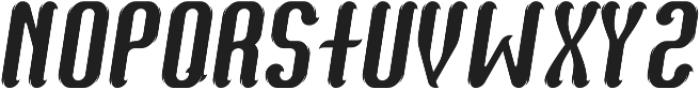 Bourbon03 Italic otf (400) Font UPPERCASE