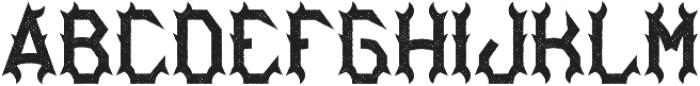 Bourbon04 Aged otf (400) Font LOWERCASE