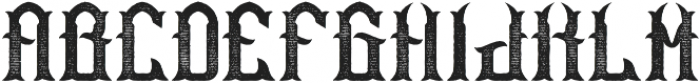 Bourbon05 Aged otf (400) Font LOWERCASE