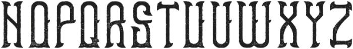 Bourbon06 Aged otf (400) Font UPPERCASE