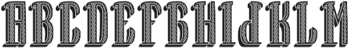 BourbonFont TextureShadow otf (400) Font UPPERCASE