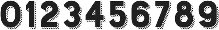 Bourton Drop Stripes A otf (400) Font OTHER CHARS