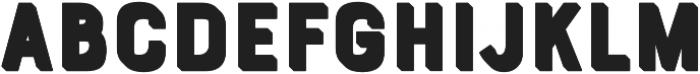 Bourton Extrude otf (400) Font LOWERCASE