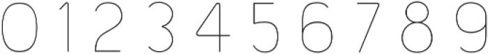 Bourton Line otf (400) Font OTHER CHARS