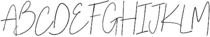 Bow Tie Alt Regular otf (400) Font UPPERCASE