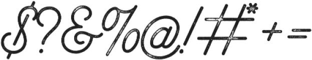 Bowline Script Vintage otf (400) Font OTHER CHARS