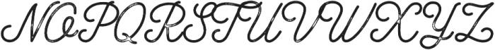 Bowline Script Vintage otf (400) Font UPPERCASE