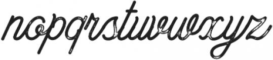 Bowline Script Vintage otf (400) Font LOWERCASE