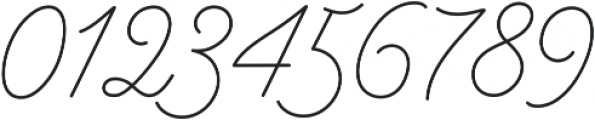 Bowline Script otf (100) Font OTHER CHARS