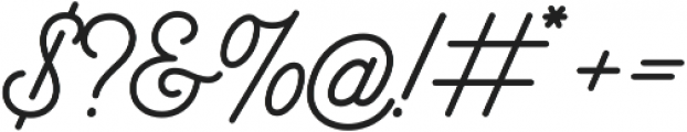 Bowline Script otf (400) Font OTHER CHARS