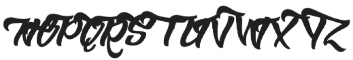 Bowlist Swsh otf (400) Font UPPERCASE