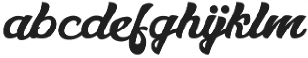 Bowlist Swsh otf (400) Font LOWERCASE