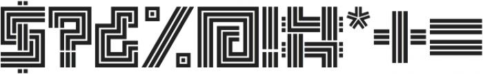 Box Display otf (400) Font OTHER CHARS