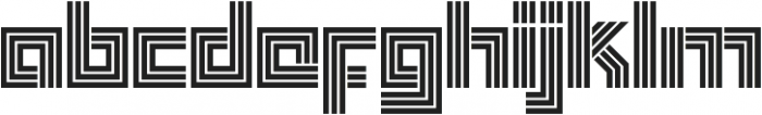 Box Display otf (400) Font LOWERCASE