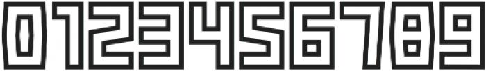 Box-Outline otf (400) Font OTHER CHARS