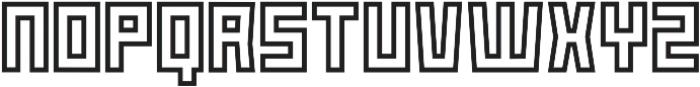 Box-Outline otf (400) Font UPPERCASE
