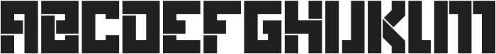 Box Solid otf (400) Font UPPERCASE