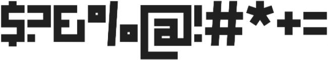 Box otf (400) Font OTHER CHARS