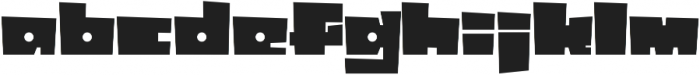 Box10 otf (400) Font LOWERCASE
