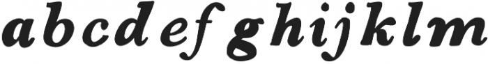 Boysenberry ttf (400) Font LOWERCASE
