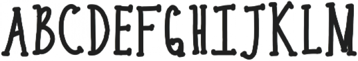 bold carrots ttf (700) Font UPPERCASE