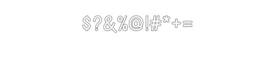 BONDAN TYPEFACE Font OTHER CHARS