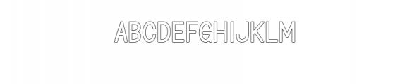 BONDAN TYPEFACE Font UPPERCASE