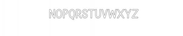 BONDAN TYPEFACE Font LOWERCASE