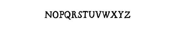 Bold Riley handmade serif typeface Font UPPERCASE