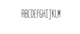 Bongo-Regular Font UPPERCASE