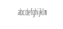 Bongo-Regular Font LOWERCASE