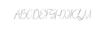 Bordershine-Script.ttf Font UPPERCASE