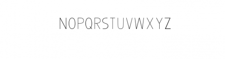 Bosque Black ShadowFont.ttf Font UPPERCASE