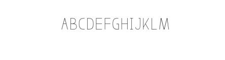 Bosque Black ShadowFont.ttf Font LOWERCASE